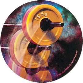 Weightlifter Holographic Emblem - HG 58