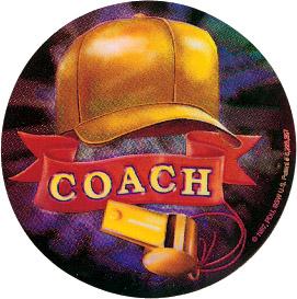 Coach Holographic Emblem - HG 60