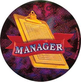 Manager Holographic Emblem - HG 61