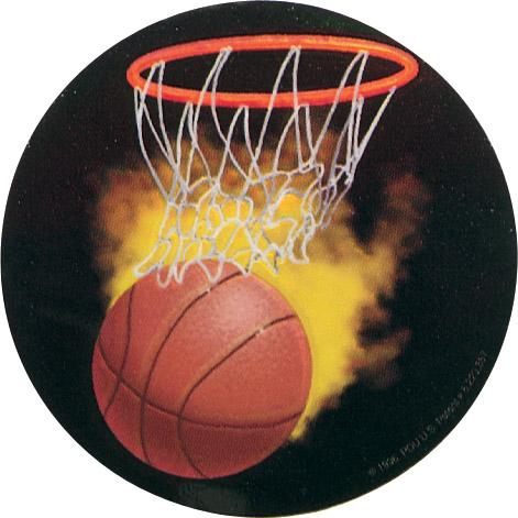 Basketball Holographic Emblem - HG 6