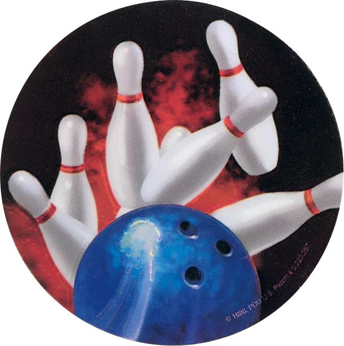 Bowling Holographic Emblem - HG 8