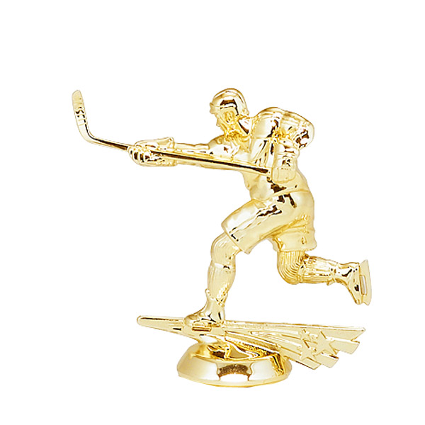 Male All Star Hockey Gold Trophy Figure