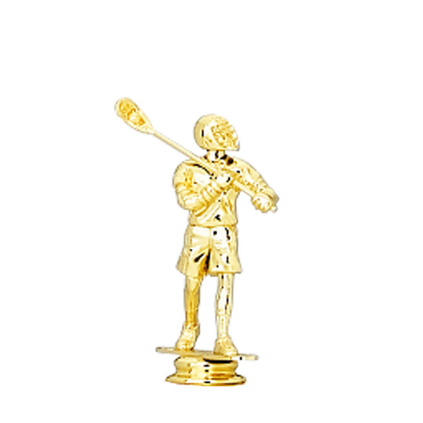 Lacrosse Male Gold Trophy Figure