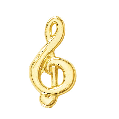 Music Clef Recognition Pin
