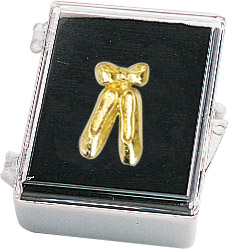 Ballet Shoes Recognition Pin with Box