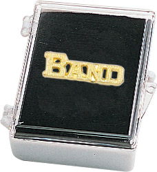 Band Recognition Pin with Box