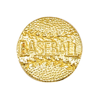 Baseball Recognition Pin