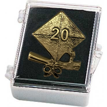 2020 Cap and Diploma Lapel Pin with Box