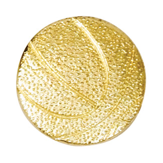 Basketball Recognition Pin