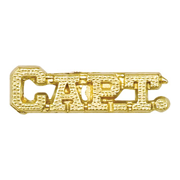 Captain Recognition Pin