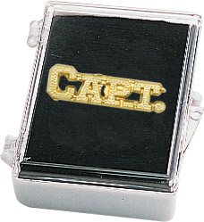 Captain Recognition Pin with Box