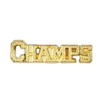 Champs Recognition Pin