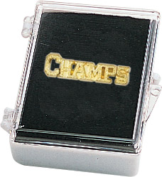 Champs Recognition Pin with Box