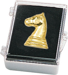 Chess Recognition Pin with Box