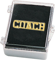 Coach Recognition Pin with Box
