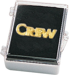 Crew Recognition Pin with Box