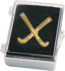 Field Hockey Recognition Pin with Box