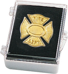Fire Dept. Recognition Pin with Box
