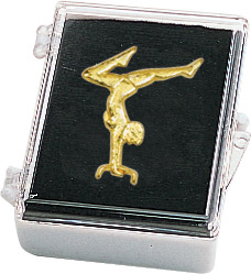 Gymnastics- Female Recognition Pin with Box
