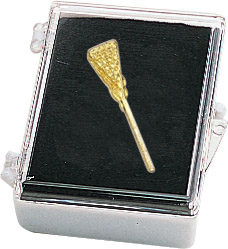 Lacrosse Recognition Pin with Box
