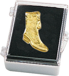 Majorette Boot Recognition Pin with Box