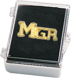 Manager Recognition Pin with Box