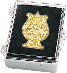 Music Band Recognition Pin with Box