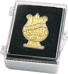 Music Choir Recognition Pin with Box