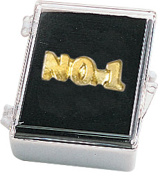 No. 1 Recognition Pin with Box
