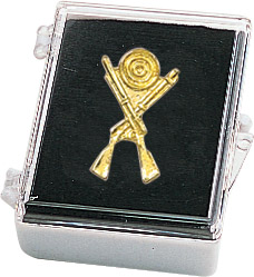 Rifles and Target Recognition Pin with Box