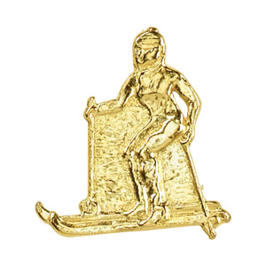 Ski-Female Recognition Pin