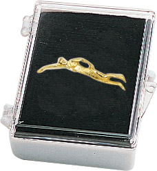 Swim- Male Recognition Pin with Box