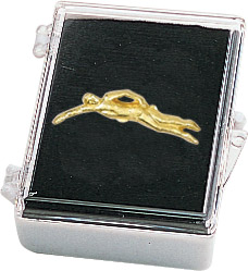 Swim- Female Recognition Pin with Box