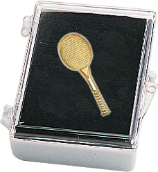 Tennis Recognition Pin with Box