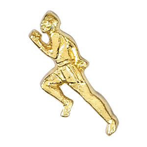 Track- Male Recognition Pin