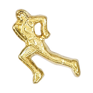 Track Female Recognition Pin