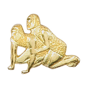 Wrestling Recognition Pin