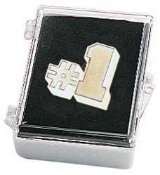 Number One Lapel Pin with Box