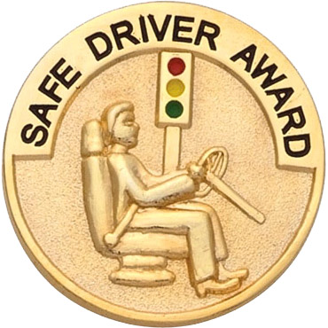 Safe Driver Recognition Pin
