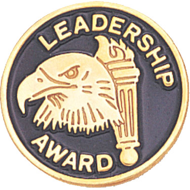 Leadership Award Recognition Pin