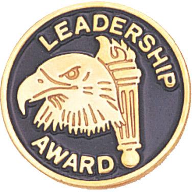 Leadership Award Recognition Pin