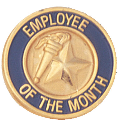 Employee of the Month Recognition Pin