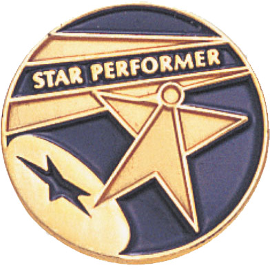 Star Performer Recognition Pin