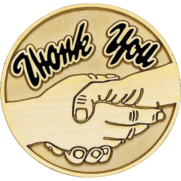 Thank You Recognition Pin