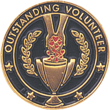 Outstanding Volunteer Recognition Pin
