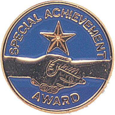 Special Achievement Recognition Pin
