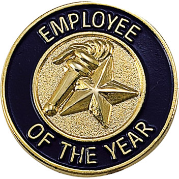 Employee of the Year Recognition Pin