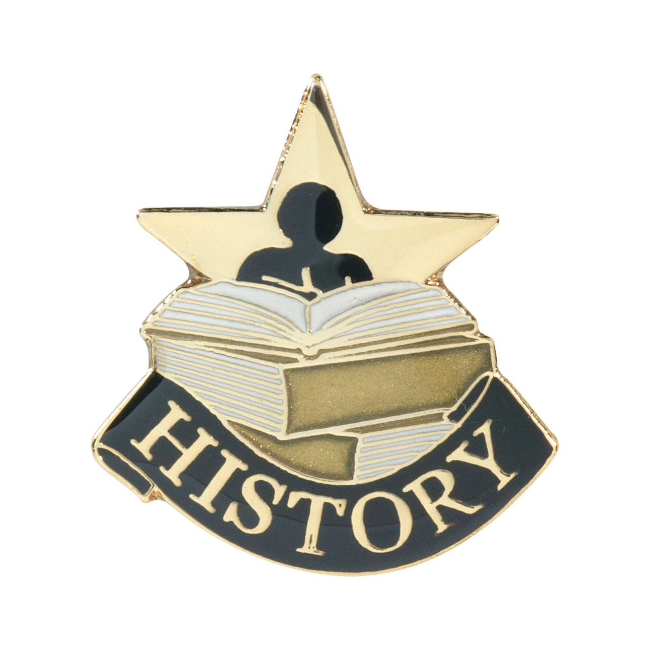 History Recognition Pin with Box