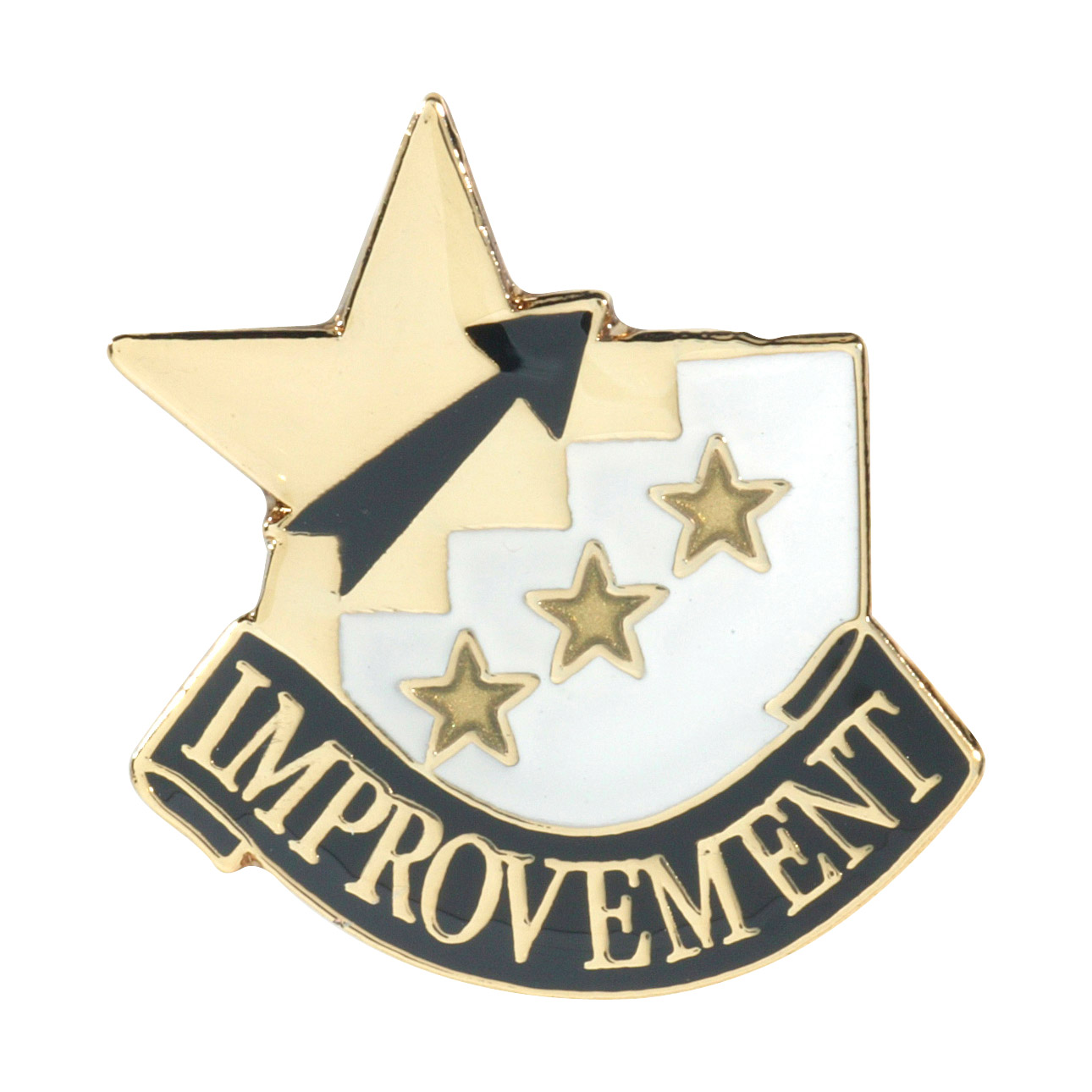 Improvement Recognition Pin with Box
