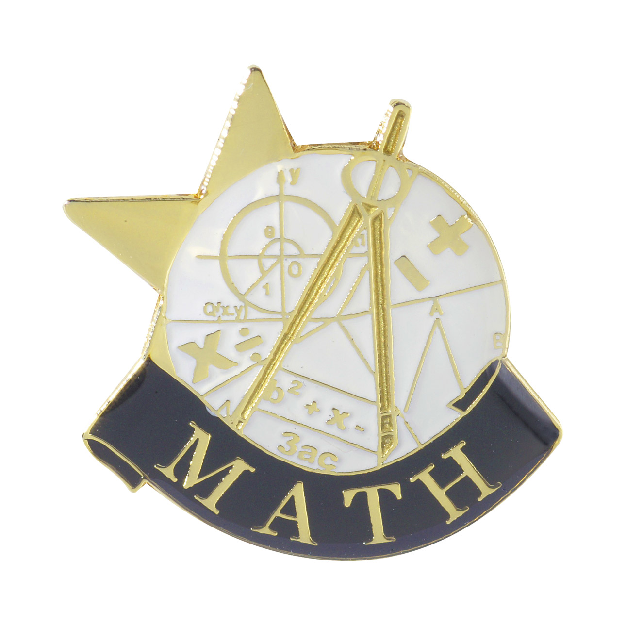 Math Recognition Pin with Box